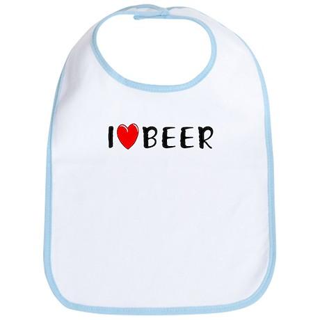 I Love Beer Bib