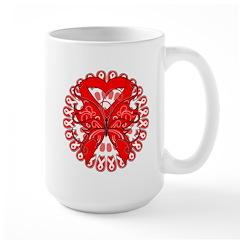 Butterfly Heart Disease Mug