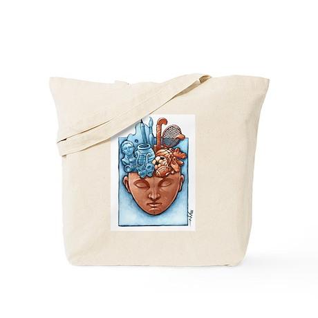 Artist Athelete Tote Bag