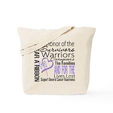 General Cancer Tribute Tote Bag
