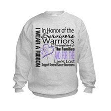 General Cancer Tribute Sweatshirt