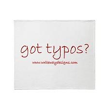 Got Typos? Throw Blanket
