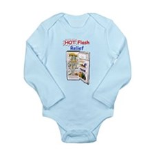 Hot Flash Relief Long Sleeve Infant Bodysuit