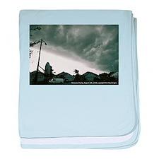 Hurricane Charley 2004 baby blanket