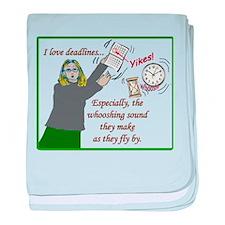 I love deadlines! baby blanket