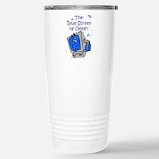 The Blue Screen of Death Travel Mug