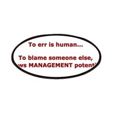 Finger Pointer? Management Po Patches