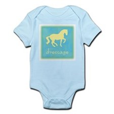 -piaffe- dressage horse Infant Creeper