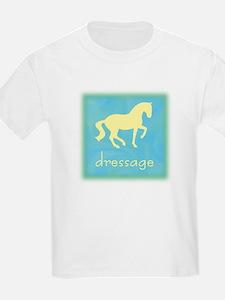 -piaffe- dressage horse Kids T-Shirt