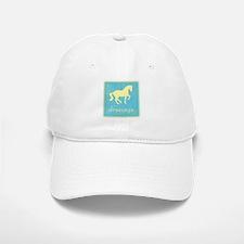 -piaffe- dressage horse Baseball Baseball Cap