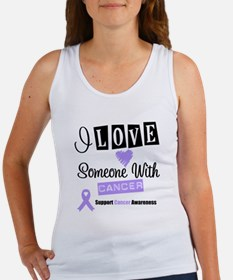 I Love Someone With Cancer Women's Tank Top