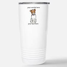 Jack Russell - Custom Stainless Steel Travel Mug