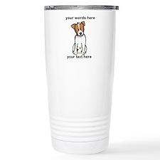 Jack Russell - Custom Thermos Mug