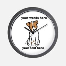 Jack Russell - Custom Wall Clock