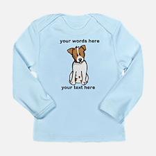 Jack Russell - Custom Long Sleeve Infant T-Shirt