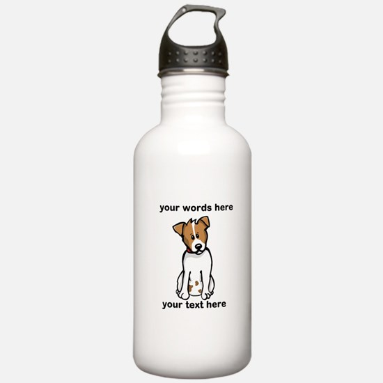 Jack Russell - Custom Water Bottle