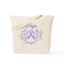 General Cancer Hope Faith Tote Bag