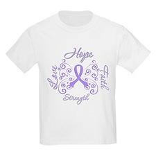 General Cancer Hope Faith T-Shirt