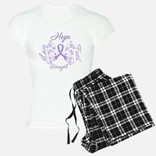General Cancer Hope Faith Pajamas
