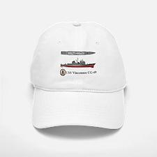USS Vincennes CG-49 Baseball Baseball Cap