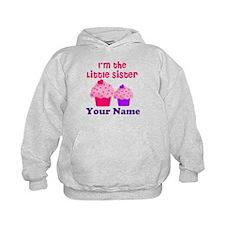 Big Sister Cupcake Custom Hoodie