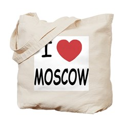 I heart moscow Tote Bag