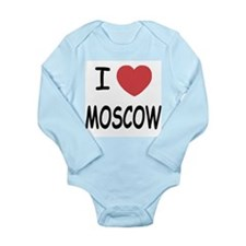 I heart moscow Long Sleeve Infant Bodysuit