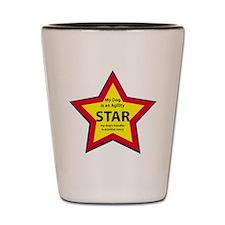 Agility Star Shot Glass