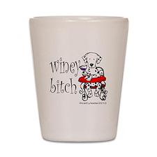 Winey Dalmatian Shot Glass