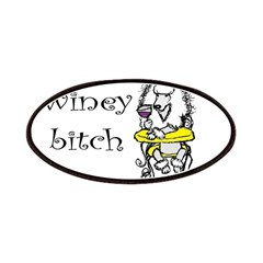 Winey Bitch Poodle Patches