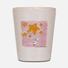 Westie/Star Shot Glass
