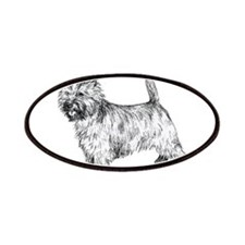 Cairn Terrier pen & ink Patches