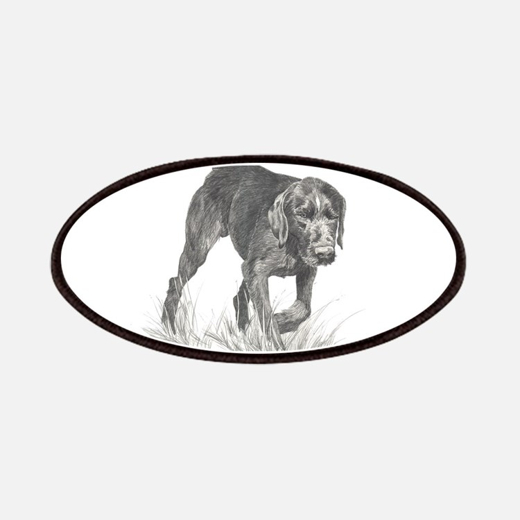 German Wire Haired Pointer sl Patches