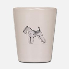 Lakeland Terrier Shot Glass