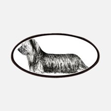 Skye Terrier Patches