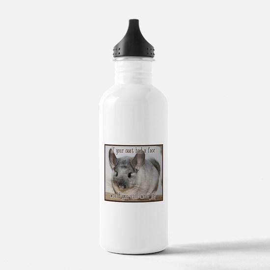 Chinchilla Coat Water Bottle