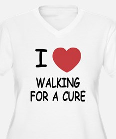 i heart walking for a cure T-Shirt