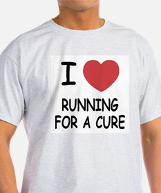 I heart running for a cure T-Shirt