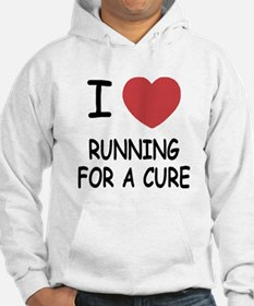 I heart running for a cure Jumper Hoody