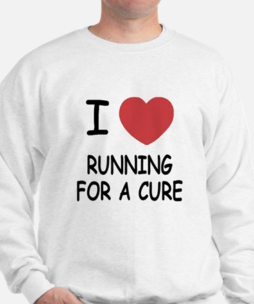 I heart running for a cure Jumper