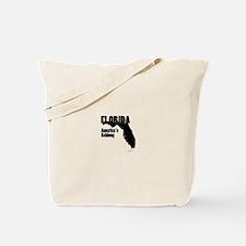 Florida America's Schlong Map Tote Bag