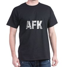 afk Black T-Shirt