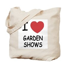 I heart garden shows Tote Bag