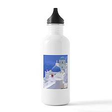 Greece Sports Water Bottle