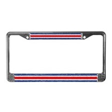 Costa Rican Flag License Plate Frame