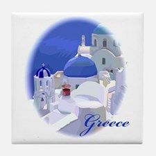 Greece Tile Coaster