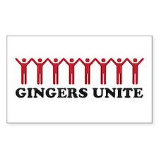 Gingersunite Decal