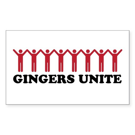Gingersunite Sticker