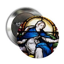 "Blessed Virgin Mary 2.25"" Button"