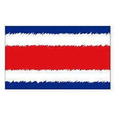 Costa Rican Flag Decal